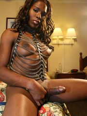 Ebony TGirl - The Original All-Black..