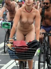 Downright bare women cyclists in these..