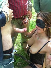 Kensington wifey with her panties plump..