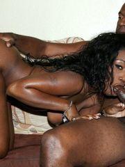 Playful ebony bimbos great pulverized..