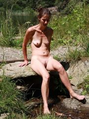 Bare mature in the forest