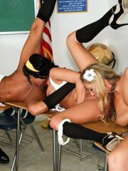 girl/girl group bang, stunner Tory Lane