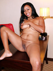 Completely nude black wives flashing..