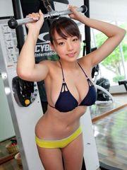 At gym AI Shinozaki