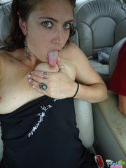 Irish  Mummy Molly Gets Insane In The Car