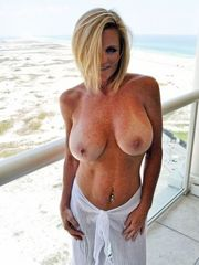 Awesome hefty boobed mature gal nearly..