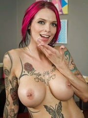 Tatted Porn Queen Anna Bell Peaks -  -..