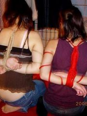 Bondage keeps the first-timer chicks..