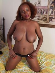 Dark-hued Tits - big ebony beautiful tits