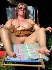 Veritable German mature damsels bare in..