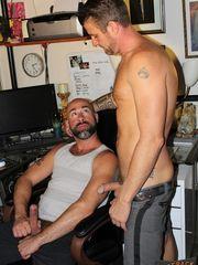Damon Andros and Christian Matthews at..