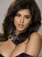 Uber-sexy brunette honey Sunny Leone..