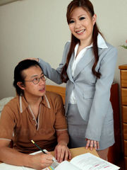 Gorgeous asian professor models..