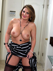 Capricious round mature lady Cherrie..