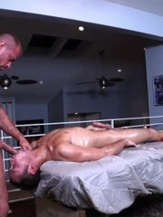 Jockstrapped Tyler Saint Massages Young..