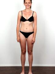 Fully naked czech girl try glamour..