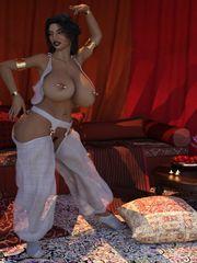 Scorpio69 - Harem Lady porno comix