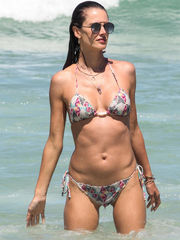 Alessandra Ambrosio Sizzles In A Little..