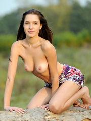 Nice Ukrainian honey Malena nude in..