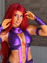 Starfire Costume play 46 - FemaleCosplays